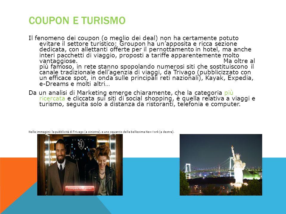 Coupon e turismo