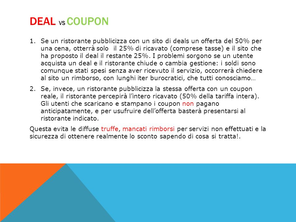 DEAL vs Coupon