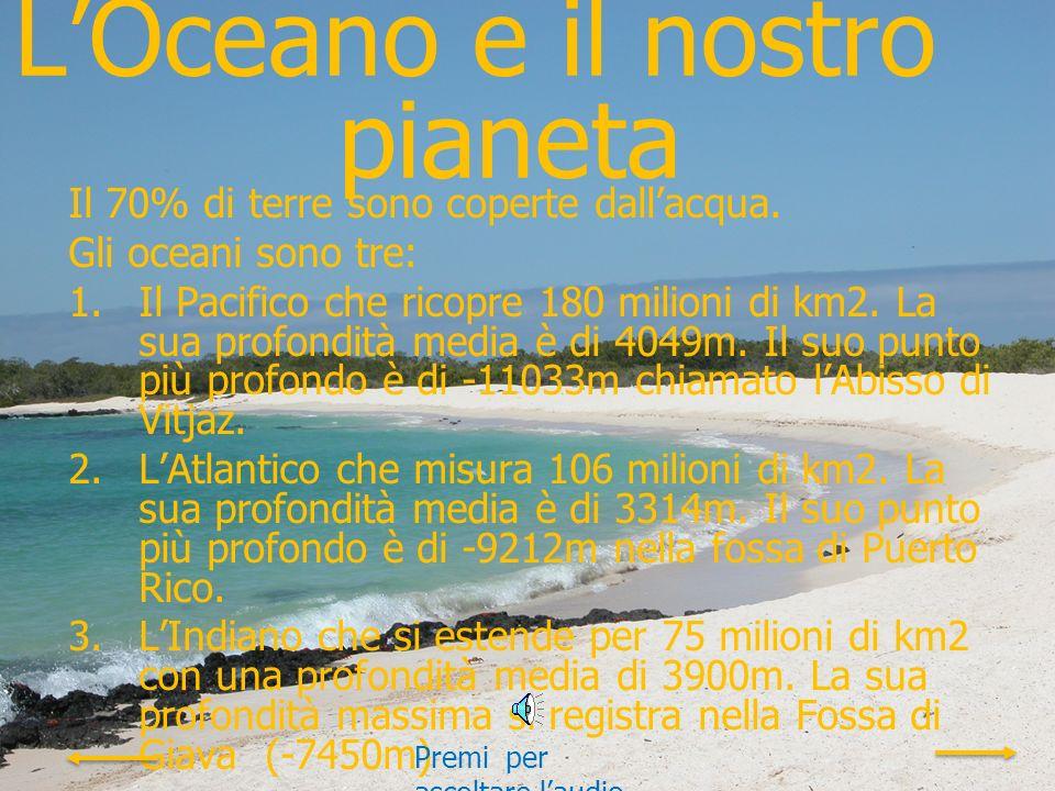 L'Oceano e il nostro pianeta