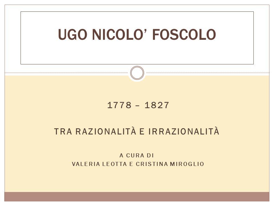 Tra razionalità e irrazionalità Valeria leotta e Cristina miroglio