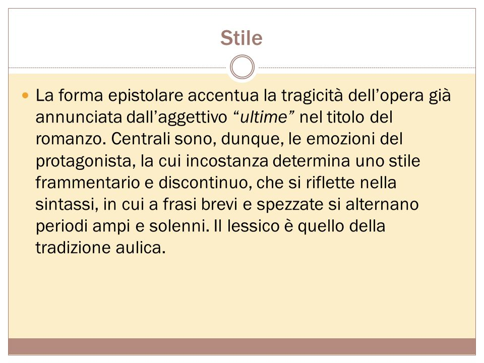 Stile