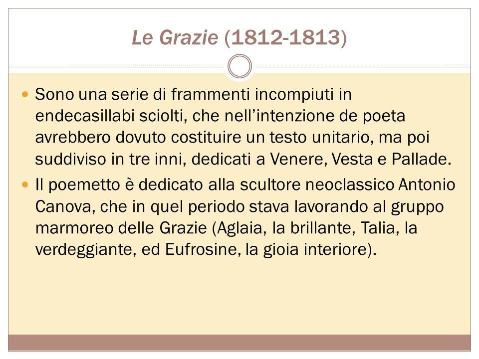 Le Grazie (1812-1813)