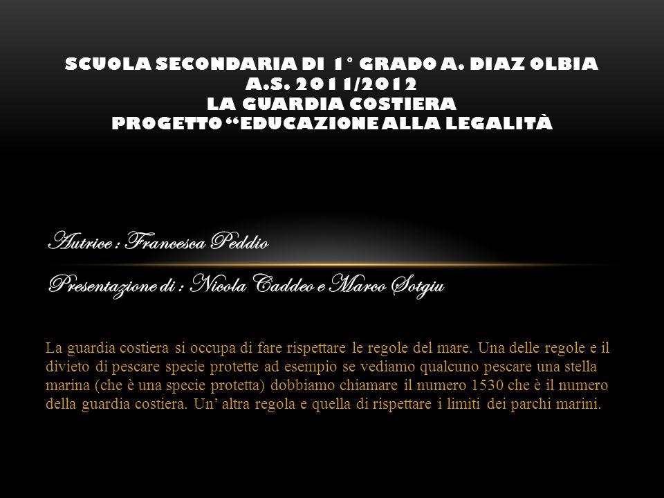 Autrice : Francesca Peddio
