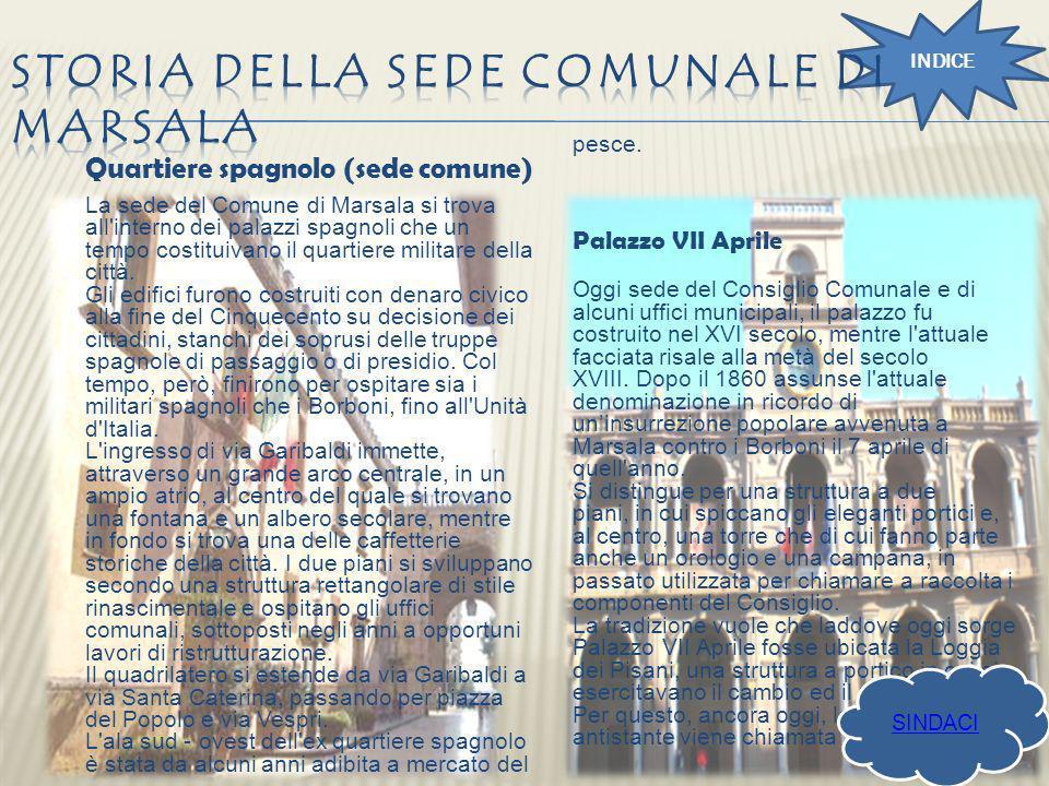 Storia della sede comunale di Marsala