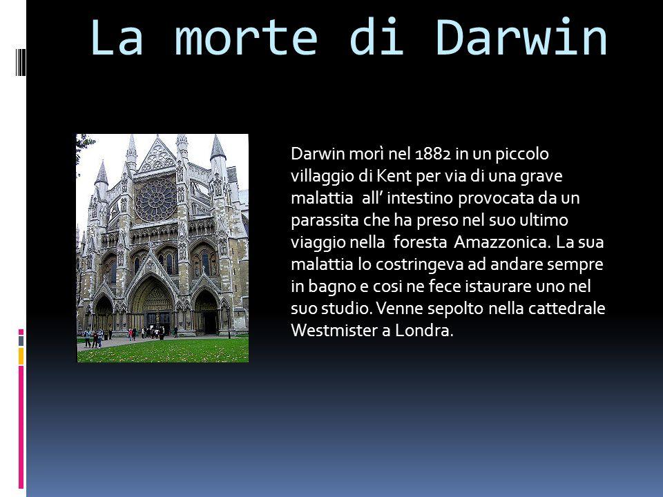 La morte di Darwin