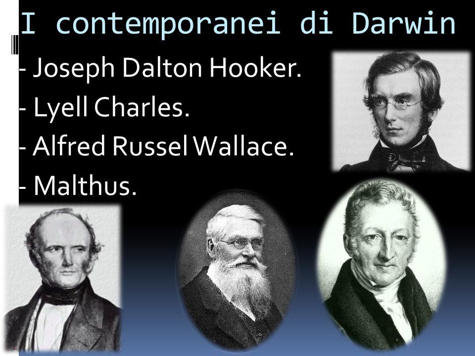 I contemporanei di Darwin