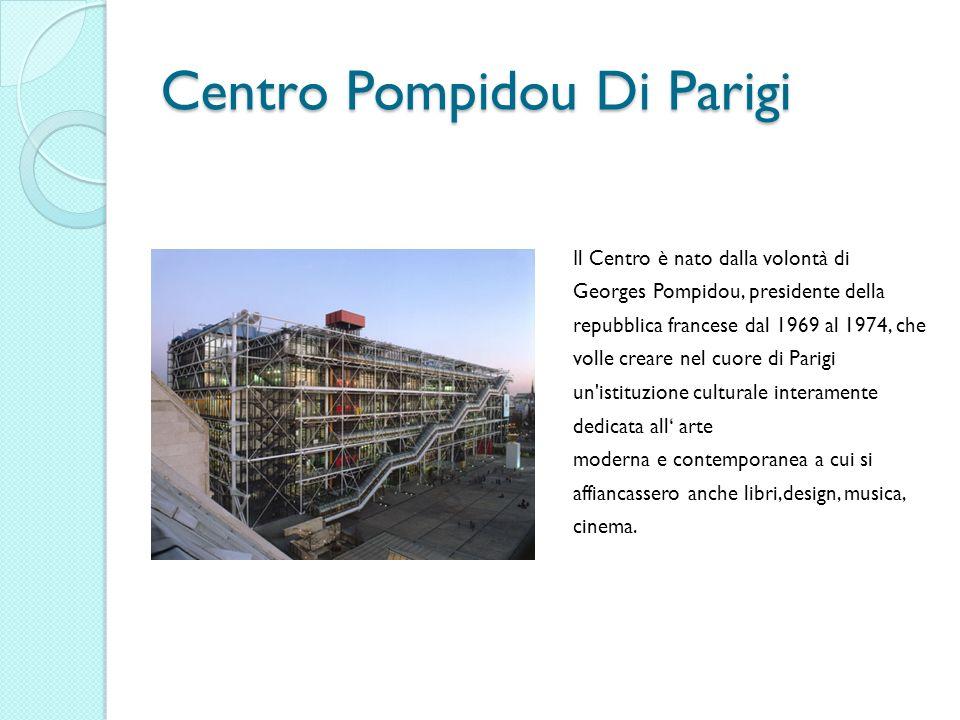 Centro Pompidou Di Parigi
