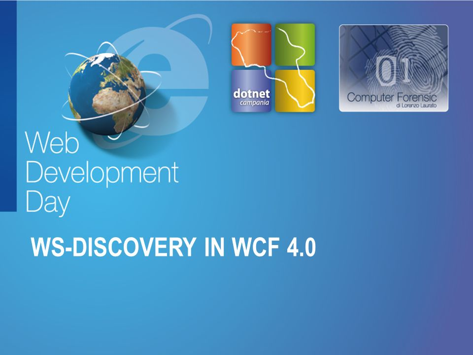 WS-DISCOVERY in WCF 4.0