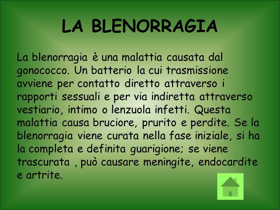 LA BLENORRAGIA