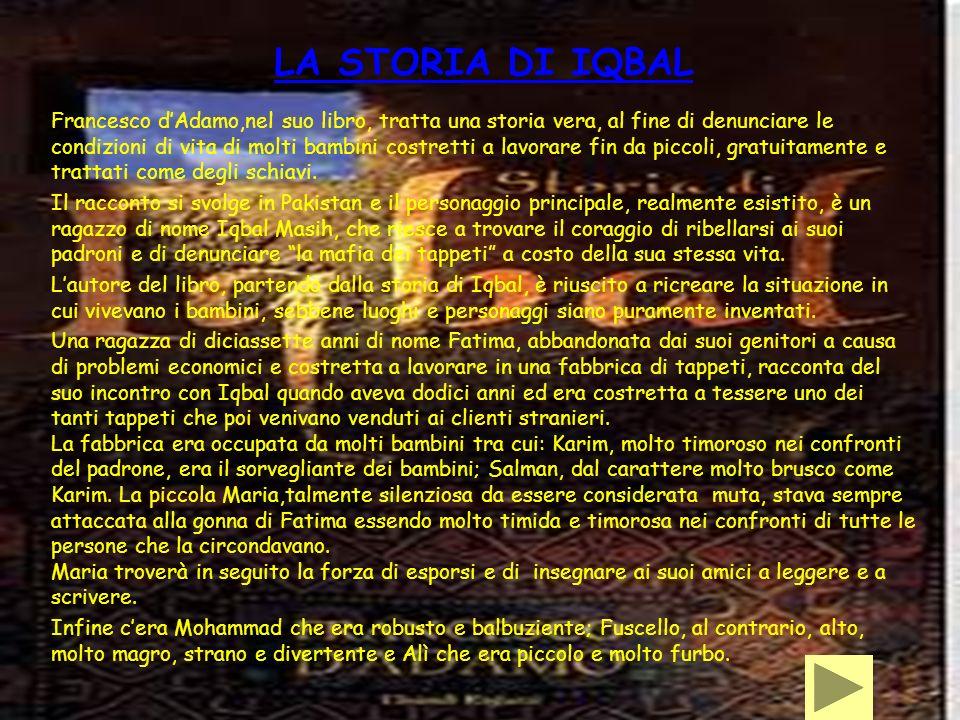 LA STORIA DI IQBAL