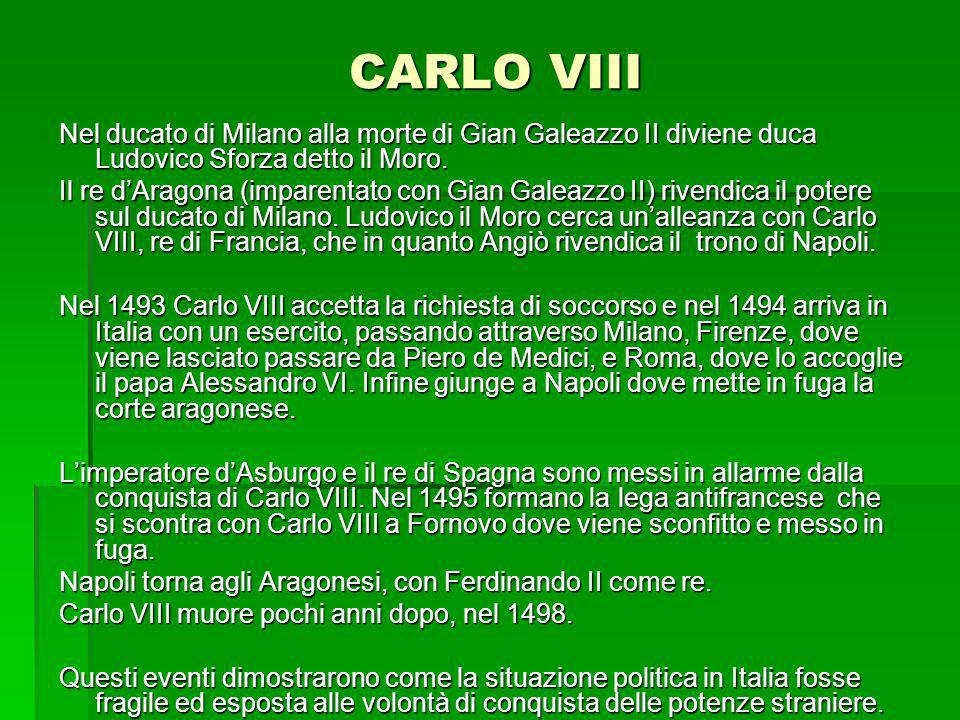 CARLO VIII