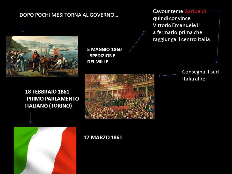 raggiunga il centro italia DOPO POCHI MESI TORNA AL GOVERNO…