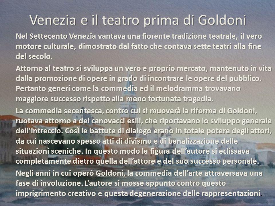 Venezia e il teatro prima di Goldoni