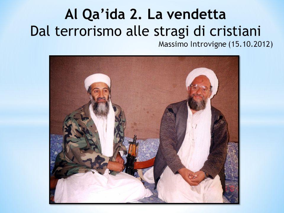 Dal terrorismo alle stragi di cristiani