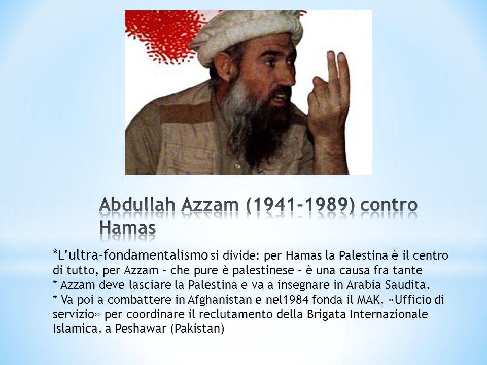 Abdullah Azzam (1941-1989) contro Hamas