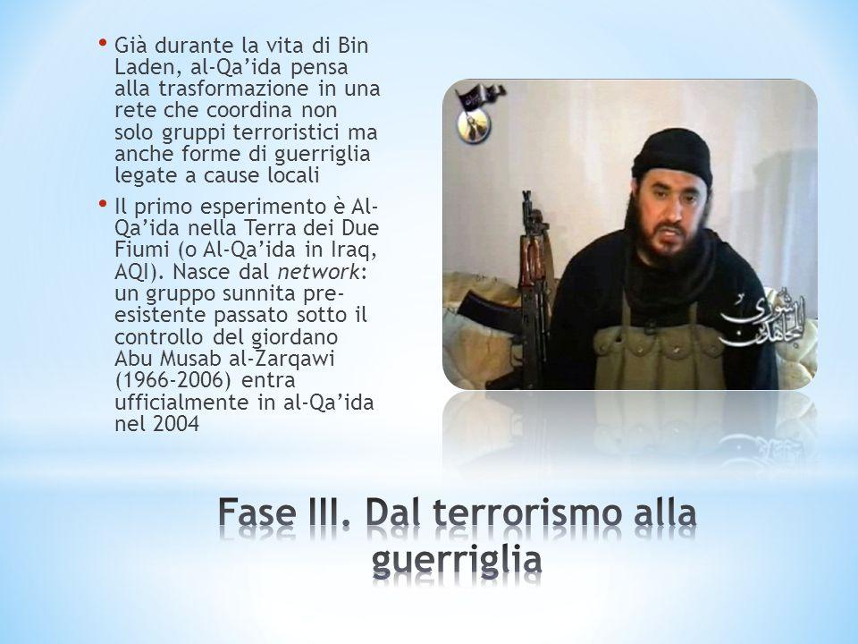 Fase III. Dal terrorismo alla guerriglia