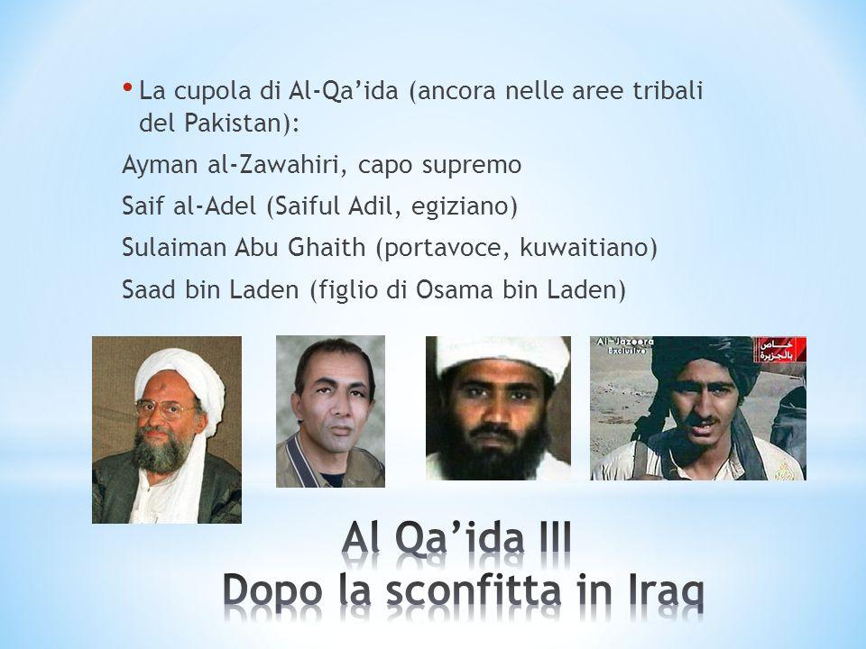 Al Qa'ida III Dopo la sconfitta in Iraq