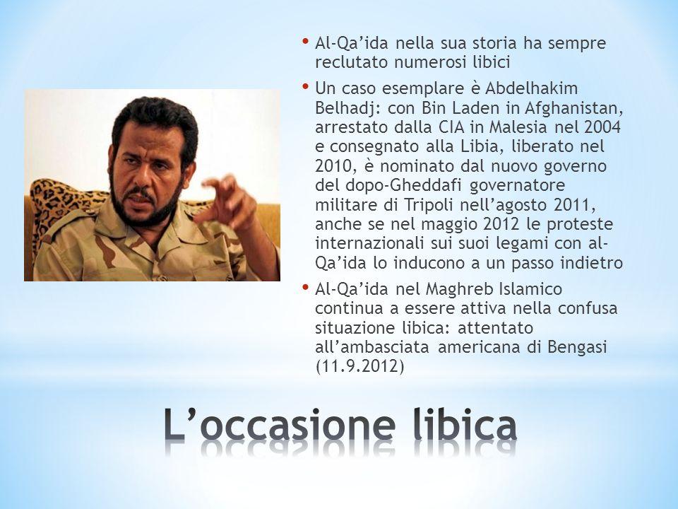 Al-Qa'ida nella sua storia ha sempre reclutato numerosi libici