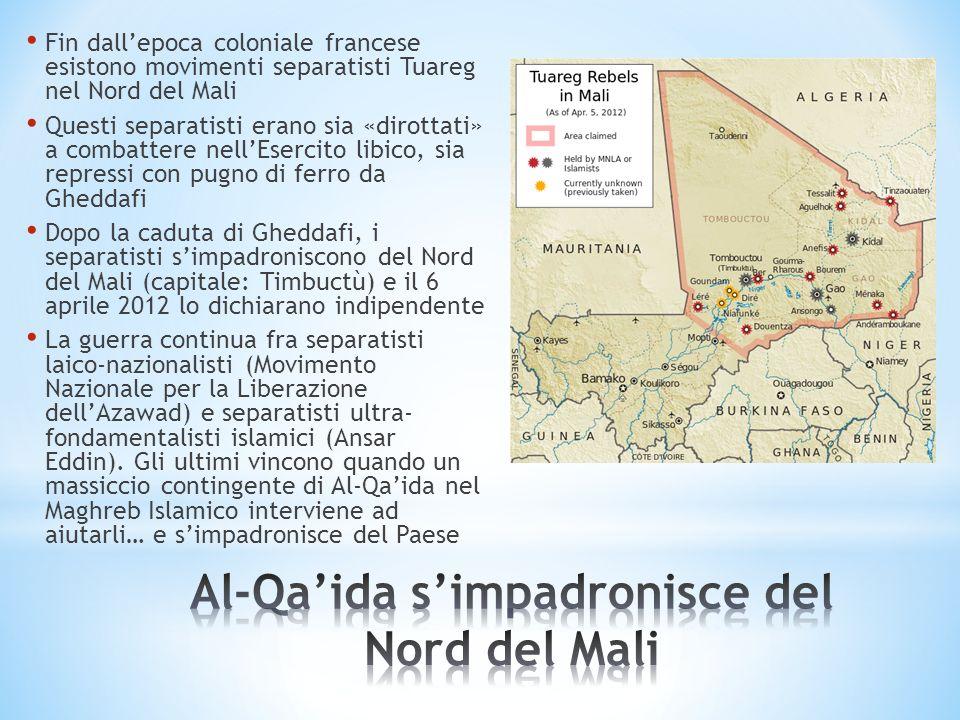 Al-Qa'ida s'impadronisce del Nord del Mali