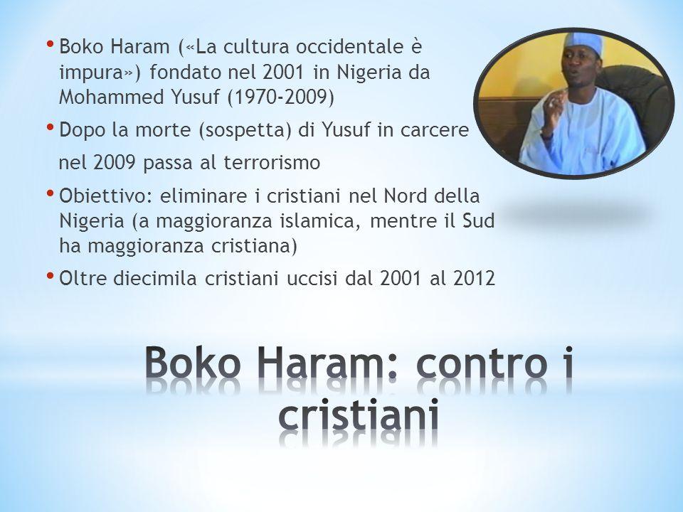 Boko Haram: contro i cristiani