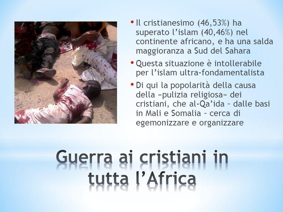 Guerra ai cristiani in tutta l'Africa