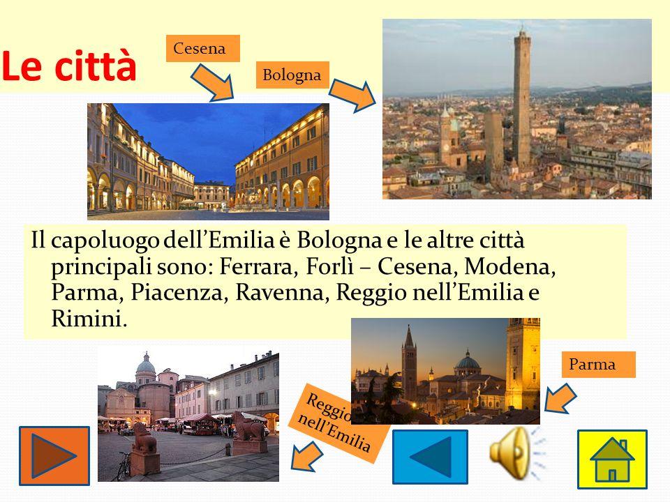 Le città Cesena. Bologna.