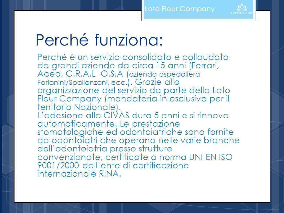 Loto Fleur CompanyPerché funziona: