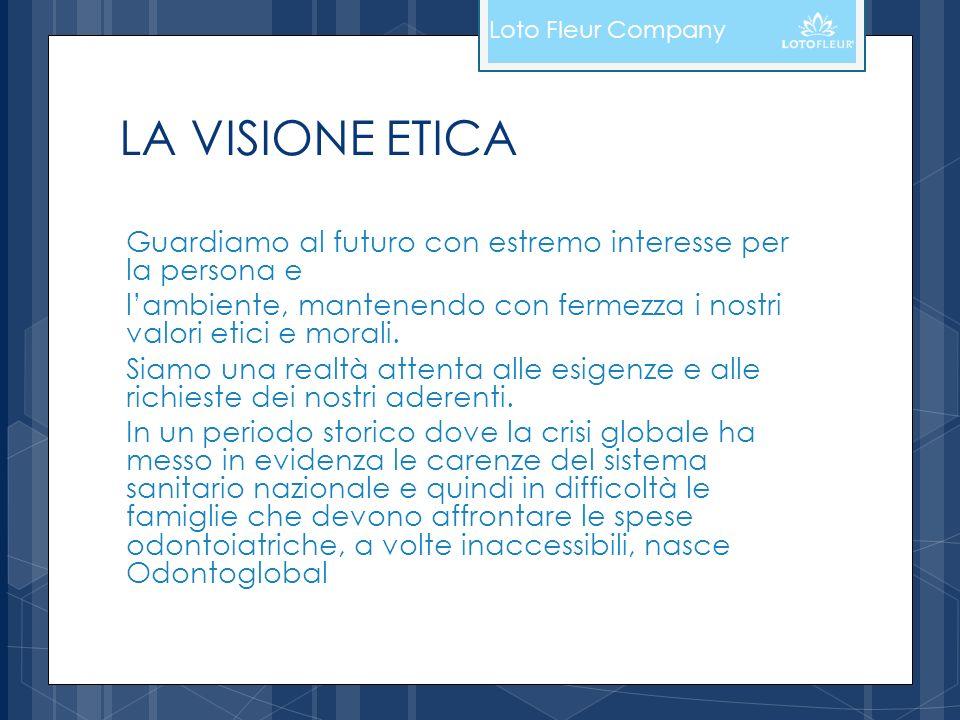 Loto Fleur Company LA VISIONE ETICA. Guardiamo al futuro con estremo interesse per la persona e.