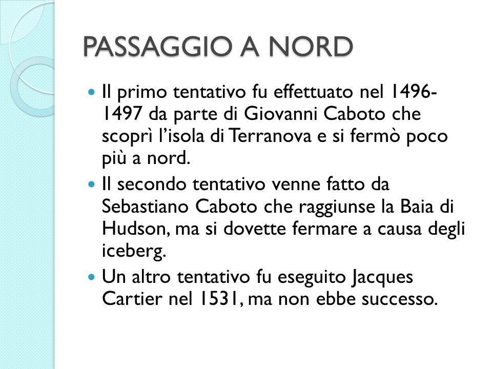 PASSAGGIO A NORD