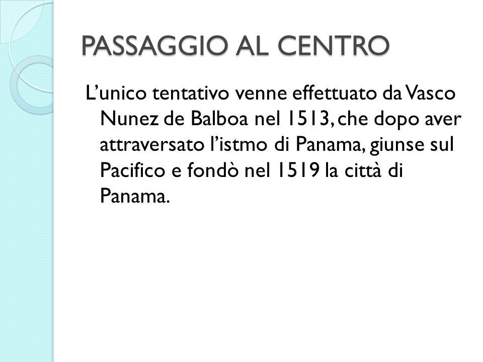 PASSAGGIO AL CENTRO