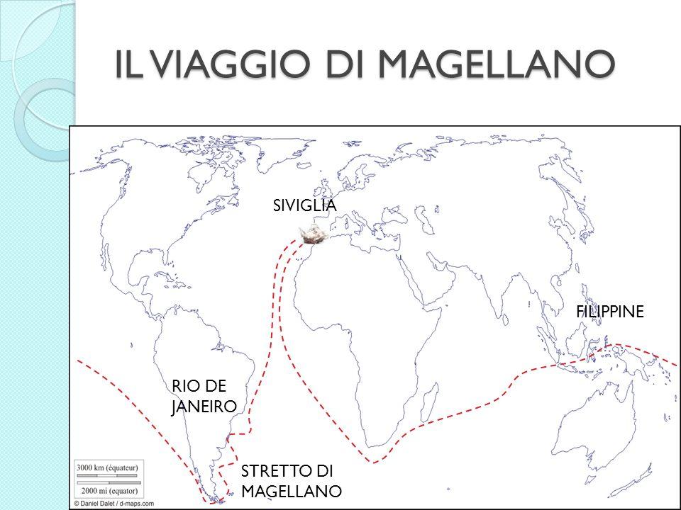 IL VIAGGIO DI MAGELLANO