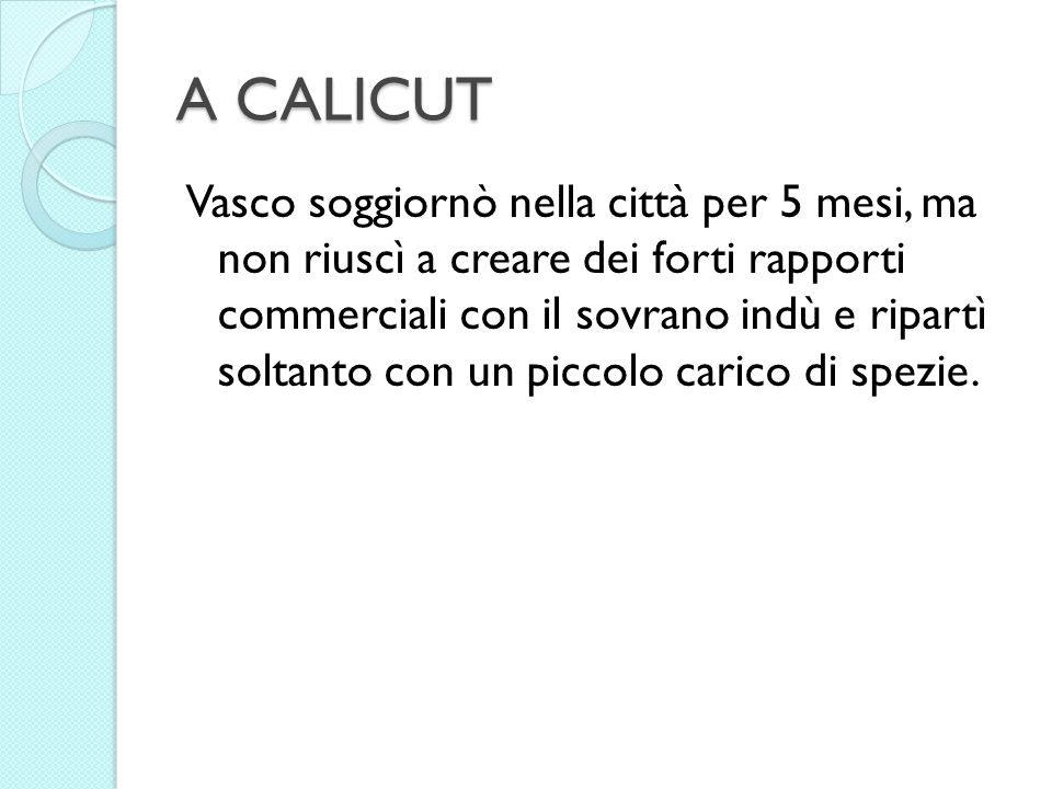 A CALICUT