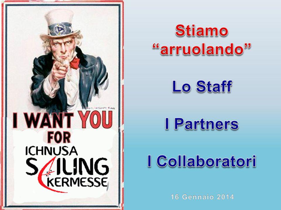 Stiamo arruolando Lo Staff I Partners I Collaboratori