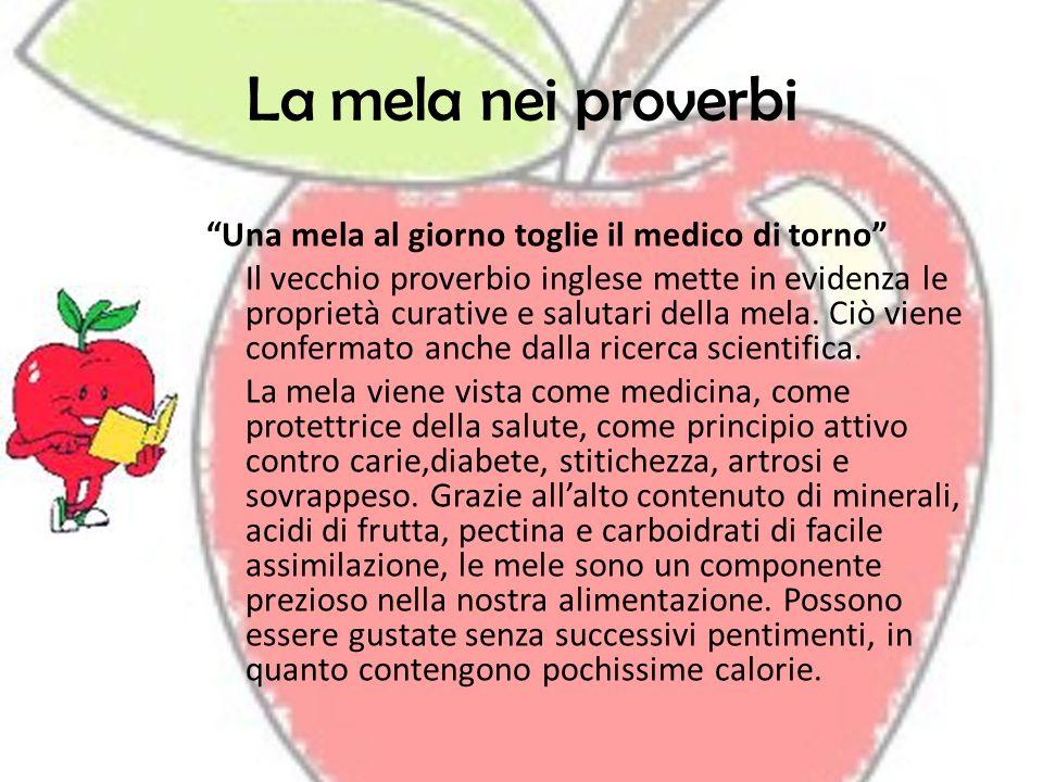 La mela nei proverbi