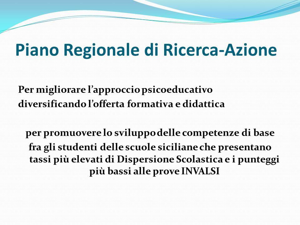 Piano Regionale di Ricerca-Azione