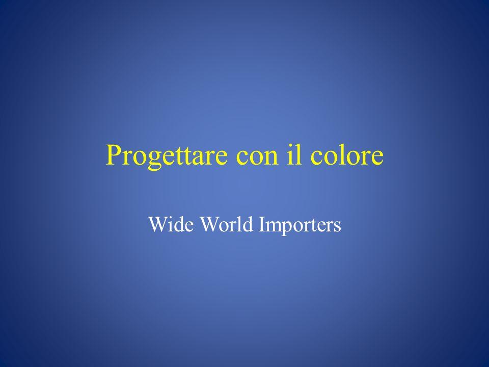 Progettare con il colore