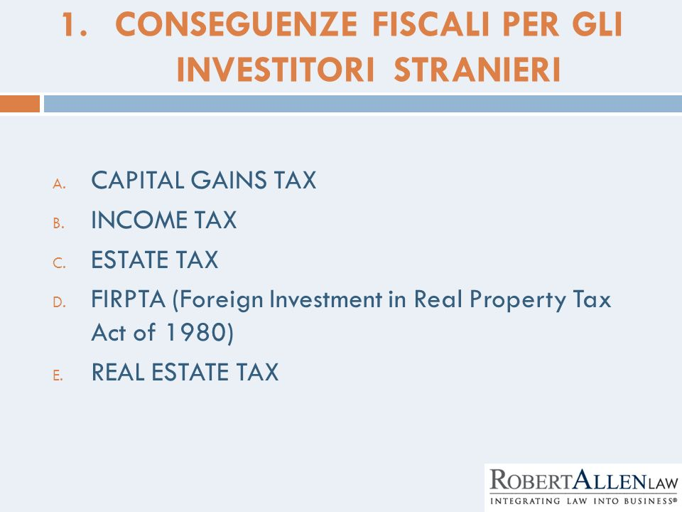 Capital Gains Tax On Foreign Property Usa