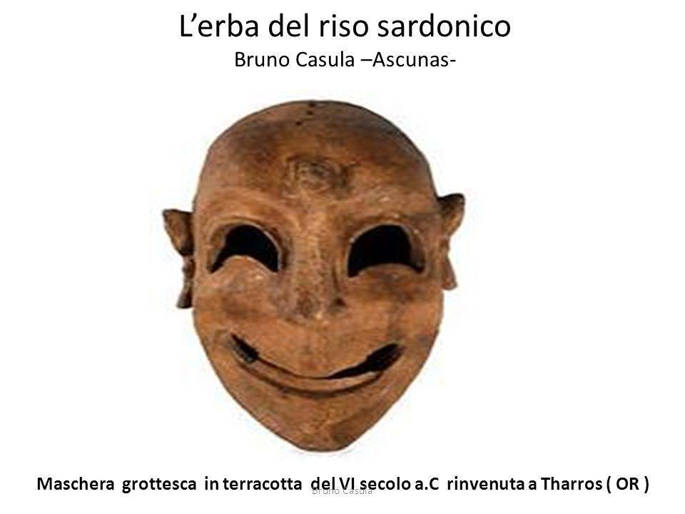 L'erba del riso sardonico Bruno Casula –Ascunas-