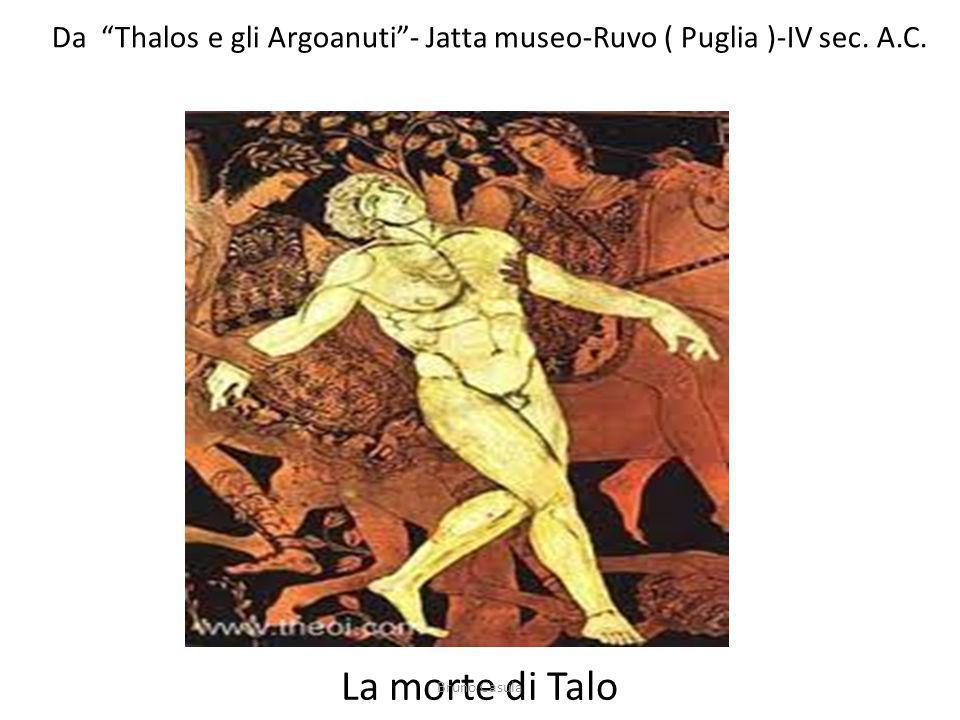 Da Thalos e gli Argoanuti - Jatta museo-Ruvo ( Puglia )-IV sec. A.C.