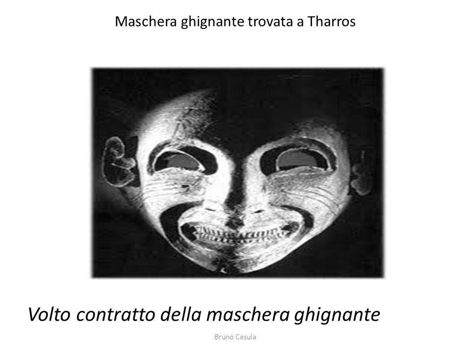 Maschera ghignante trovata a Tharros