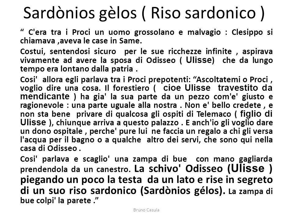 Sardònios gèlos ( Riso sardonico )