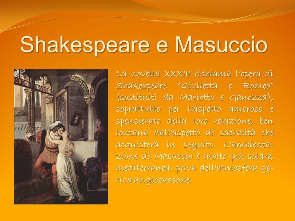 Shakespeare e Masuccio