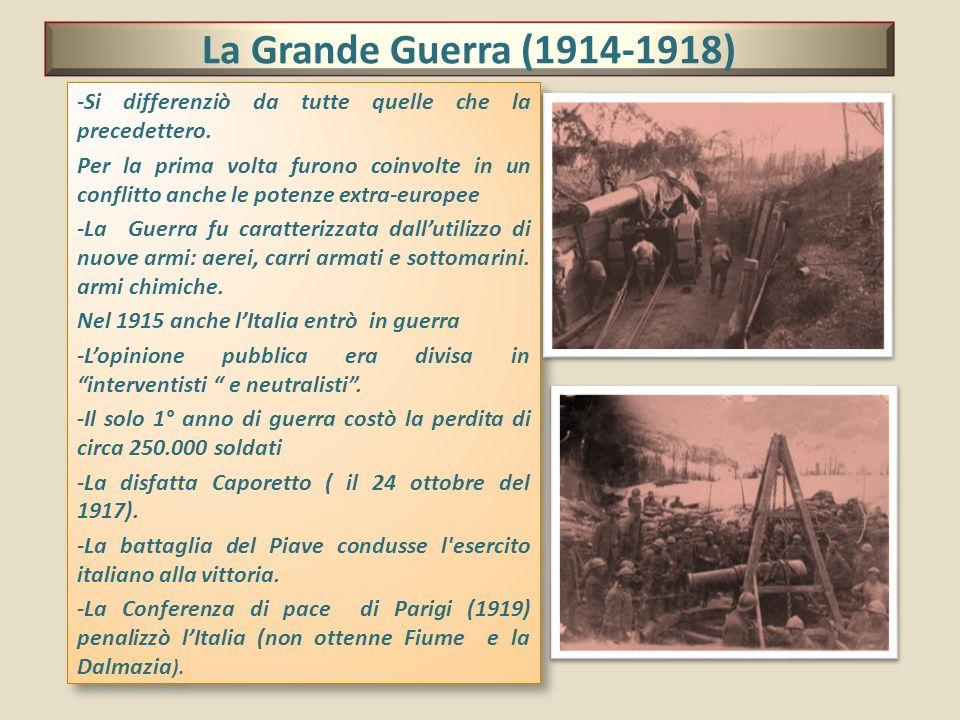 La Grande Guerra (1914-1918)