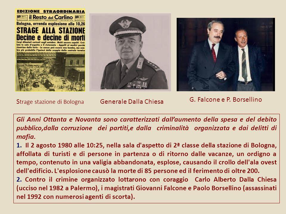 G. Falcone e P. Borsellino