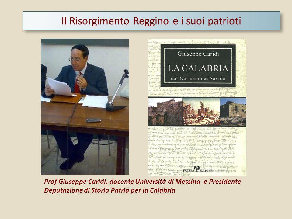 Il Risorgimento Reggino e i suoi patrioti
