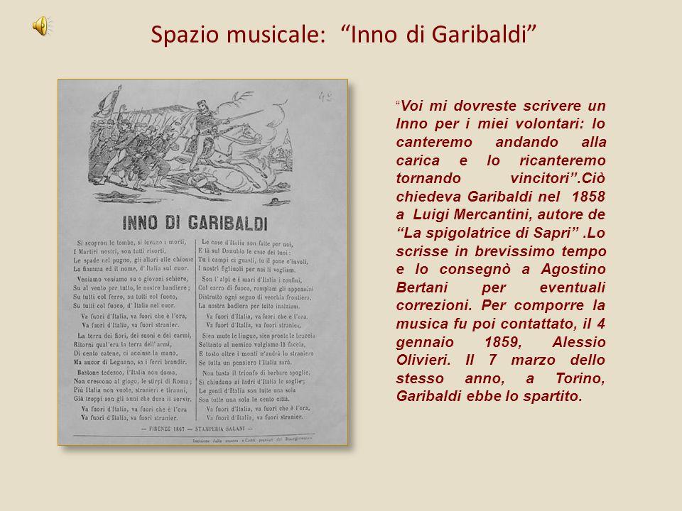Spazio musicale: Inno di Garibaldi