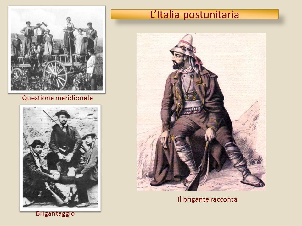 L'Italia postunitaria