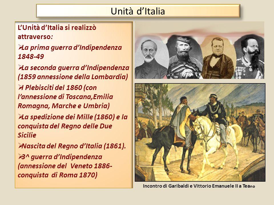 Incontro di Garibaldi e Vittorio Emanuele II a Teano