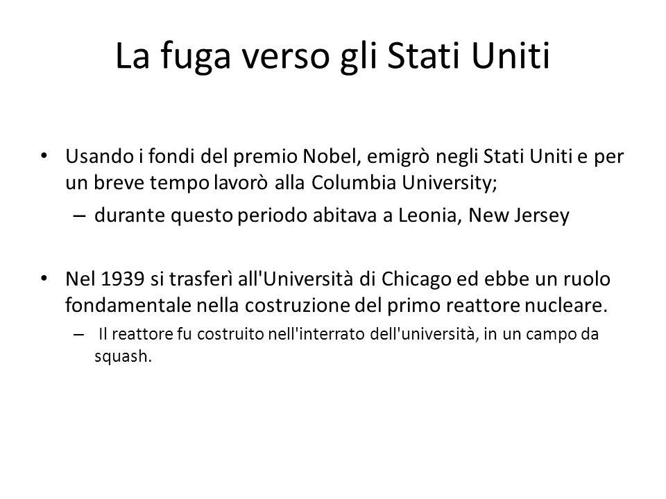 Enrico fermi ppt scaricare for La baita di columbia nj