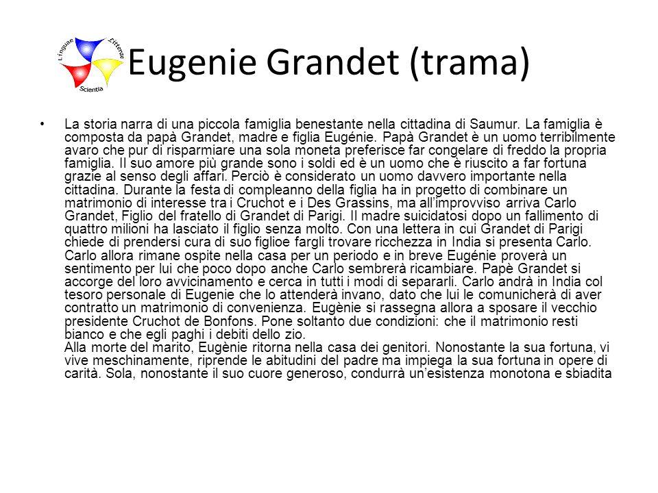 Eugenie Grandet (trama)